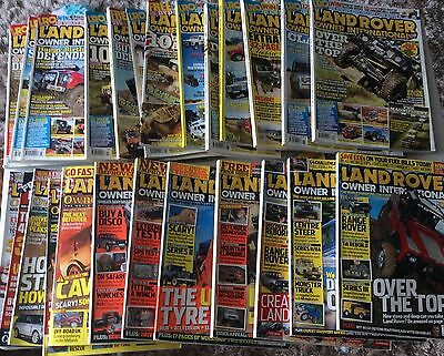 Job Lot Landrover Owner International Magazines