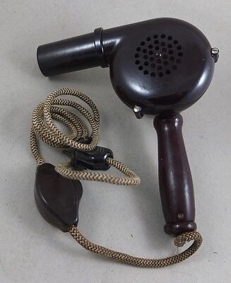 antik Haartrockner Foen Bakelit Art Deco antique hair dryer