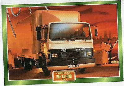DAF FA1300                     Glossy   Picture (T235)