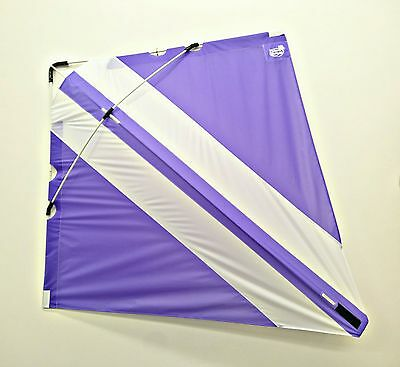 PETER POWELL Dual Line Stunt Kite MKIII PURPLE-WHITE Adults Kids Outdoor Sport