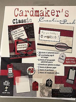 Hot Off The Press  Cardmaker's Classic Creative Patterned Paper And Tag Pack