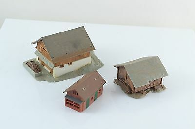 Kibri Barn - Mountain Cabin - Small Shed Built Up Z Scale