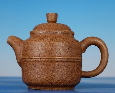 Exquisite Rare Old Chinese Zisha Pottery Used Teapot Marked Yanglin Pt012