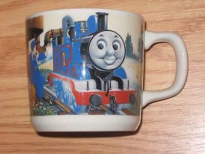 THOMAS THE TANK ENGINE WEDGWOOD MUG Made in England CHILDREN'S Ceramic CUP NICE