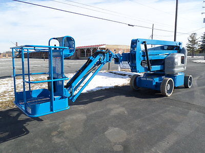 2008 Genie Z40/23Nrj Electric Articulating Boom Lift Man Lift Manlift Boomlift