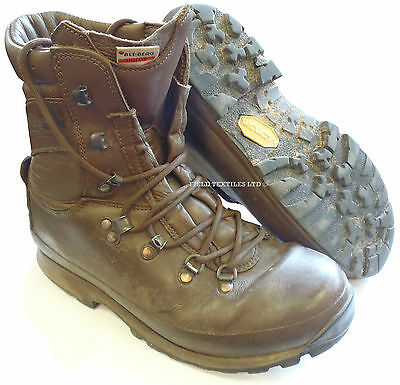 British Army Altberg Combat Defender Brown Boots - Various Sizes - Grade 2 Used