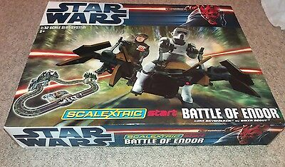 star wars scalexric battle of endor