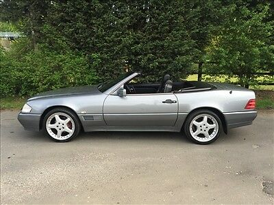 Very Rare 1991 Mercedes 500 Sl-32 Amg Automatic Sports Convertible