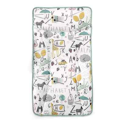 Mamas and Papas -  PVC Changing Mat / Mattress - NEW Alphabet Mint - BRAND NEW
