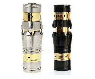 Maraxus Iron Man Stainless Mechanical Telescoping 510 Mod Clone APV for RDA RBA