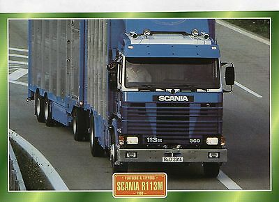 Scania  R1 13M                Glossy   Picture (T247)