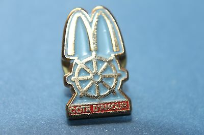 RARE Mcdonalds  pin badges from all around the world (COTE D'AMOUR)