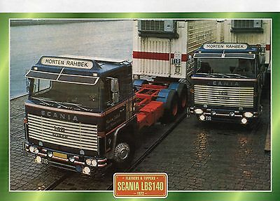 Scania LBS140                         Glossy   Picture (T252)