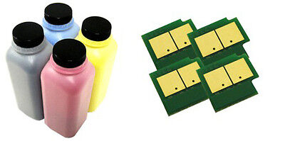4x Toner Refill Kit For Samsung CLP360 CLP365W CLX3305 CLT-406S + Chips