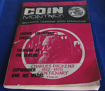 Coin Monthly Britain's Leading Coin Magazine August 1970