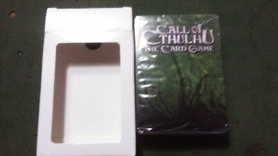 Call Of Cthulhu LCG Official Poker Deck Promo Item, SEALED