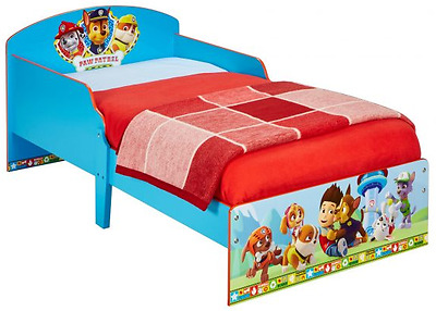 Worlds Apart Paw Patrol Toddler Bed, Kids Bed By HelloHome