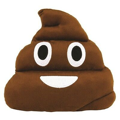 25cm Emoji Emoticon Poop Cushion Plush Soft Stuffed Cushion Pillow Poo Novelty