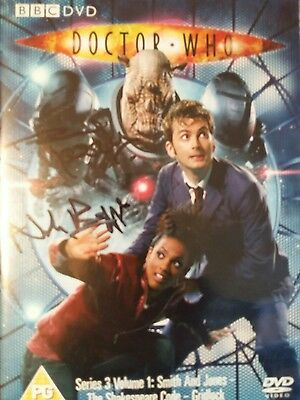 Dr Who Signed Dvd By 3 - Anne Reid, Nick Briggs,  Paul Kasey