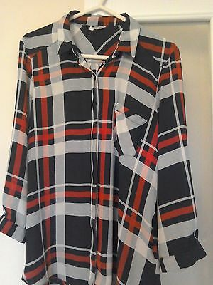 Ladies blouse size 14 red herring