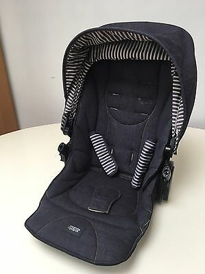 Mamas And Papas Sola 2 MTX Colour Pack / Hood Seat Fabric Harness Covers  Denim