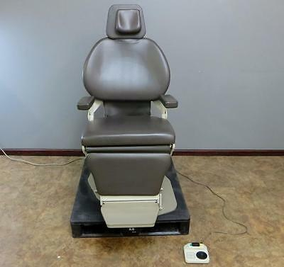 Midmark Ritter 391 ENT otolaryngology Patient Exam Chair Rotating, Footswitch