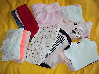 3-6 months baby girls clothes bundle (26pc)