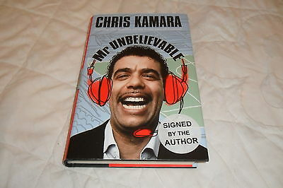 """SIGNED BOOK-Chris Kamara """"Mr Unbelievable""""-First Edition 2010"""