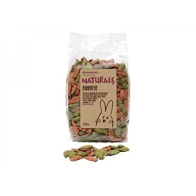 Naturals Treats Small Pet Animal Rabbit Guinea Pig Healthy Food Carrotys 200g