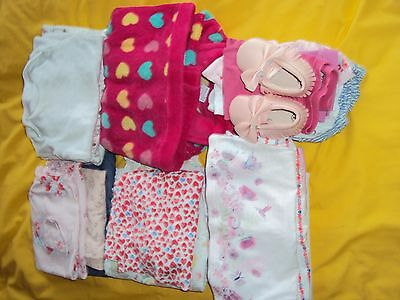 6-9 months baby girls clothes bundle (26pc)