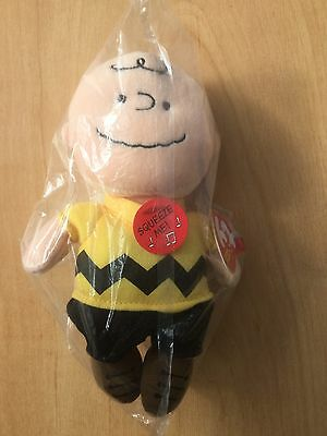 """Charlie Brown Ty Beanie Babies 8"""" Plush Toy"""