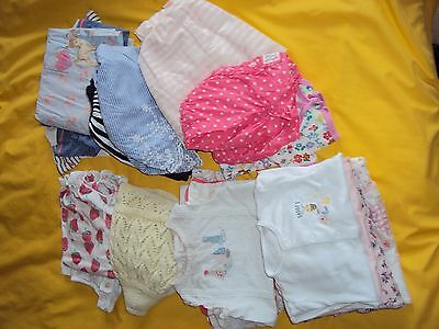 6-9 months baby girls clothes bundle (21pc)