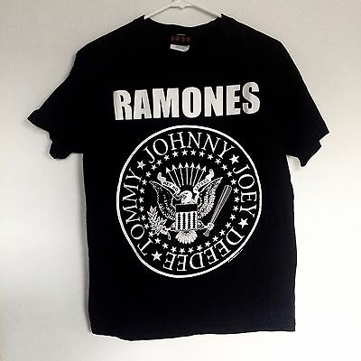 Authentic RAMONES Presidential Seal Logo T-Shirt