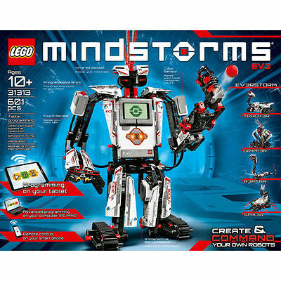 LEGO – Mindstorms EV3  31313  build one time complete 100% with box