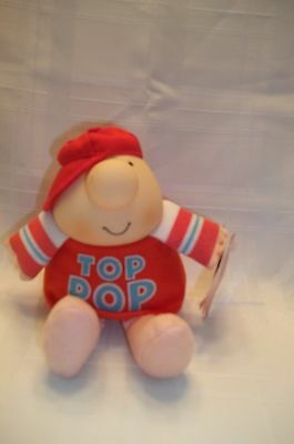 Vintage American Greetings TOP POP ZIGGY Plush  1993  Fathers Day Dad NEW