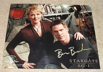 Stargate SG1 Signed 8x10 Photo Ben Browder Auto Autograph