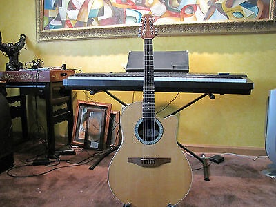 Ovation 6751 Acoustic/Electric Guitar with Op30! Excellent condition and case.