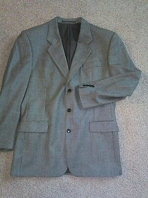 Mens Check Jacket 40L (725)