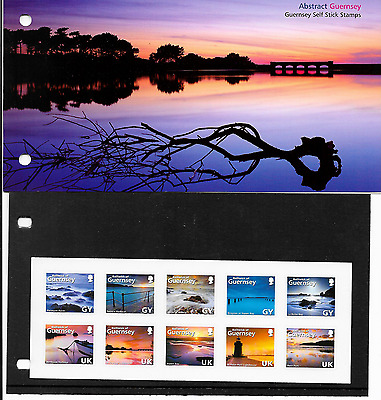 Guernsey Abstract Guernsey P/pack S/ad  Mnh 2008 Lot 13