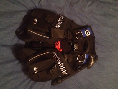 Cressi BCD For Scuba Diving, Size Small