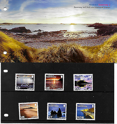 Guernsey  Abstract Guernsey P/pack   Mnh 2010 Lot 14