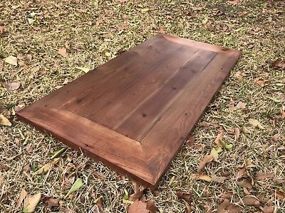 Rustic Reclaimed WOOD Table Top MULTI SIZE Bar Restaurant Farmhouse Urban Rustic