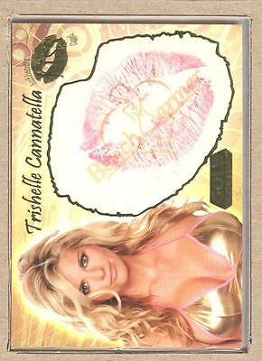 Trishelle Cannatella 13 of 24 2007 Bench Warmer Gold KISS