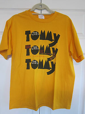 The Who Tommy Broadway Original 1992 Vintage Shirt L