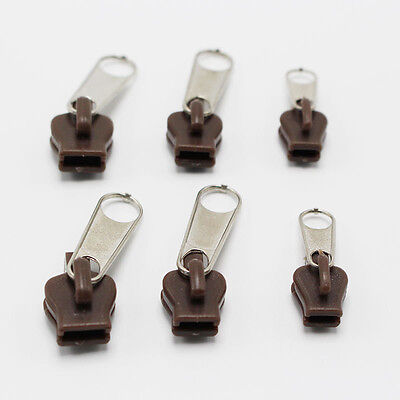 6Pcs Fix A Zip Zipper Slider Rescue Instant Kit Repair Replacement Accessories
