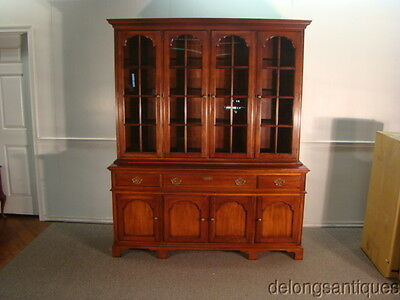 42713:Statton Solid Cherry China Cabinet