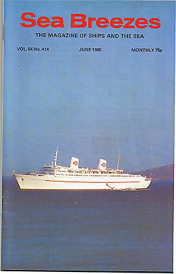 """Sea Breezes June 1980 The """"Norway"""" In Service, British India Liner """"Domala"""" 1920"""