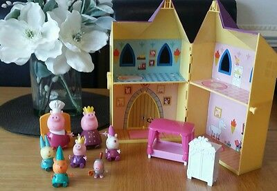 peppa pig princess castle with figures