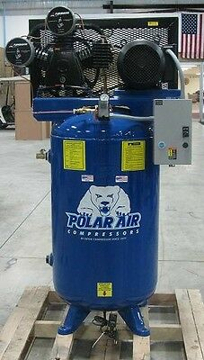 7.5 HP 3 Cylinder SP 80 Gallon Vertical Air Compressor