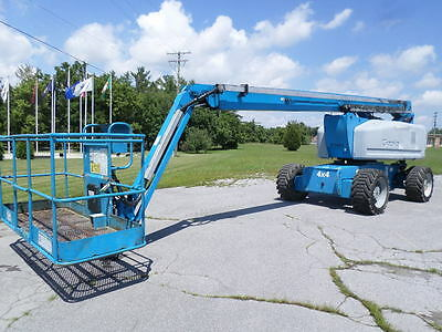 2006 Genie Z80/60 Boom Lift Man Lift Manlift Articulating Boomlift Man Basket